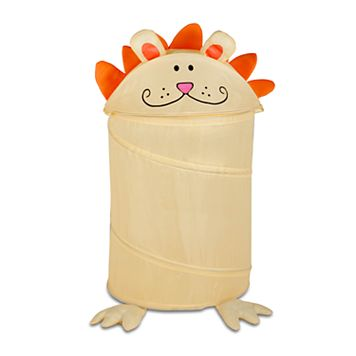 Kids Honey-Can-Do Lion Pop-Up Hamper