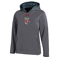 Boys 8-20 Under Armour Wisconsin Badgers Novelty Hoodie