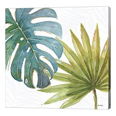 Metaverse Art Tropical Blush VIII Canvas Wall Art