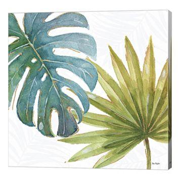 Metaverse Art Tropical Blush VIII Canvas Wall Art