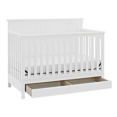 Storkcraft Davenport 5-in-1 Convertible Crib with Drawer