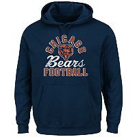 Big & Tall Majestic Chicago Bears Kick Return Hoodie