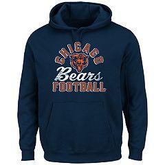 Big & Tall Majestic Chicago Bears Kick Return Hoodie