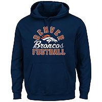 Big & Tall Majestic Denver Broncos Kick Return Hoodie