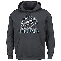 Big & Tall Majestic Philadelphia Eagles Kick Return Hoodie