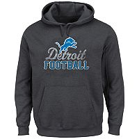 Big & Tall Majestic Detroit Lions Kick Return Hoodie