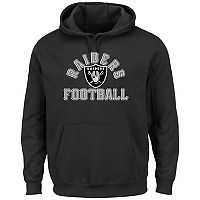 Big & Tall Majestic Oakland Raiders Kick Return Hoodie