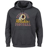 Big & Tall Majestic Washington Redskins Kick Return Hoodie