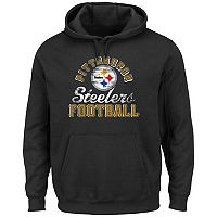 Big & Tall Majestic Pittsburgh Steelers Kick Return Hoodie