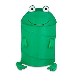 Kids Honey-Can-Do Large Frog Pop-Up Hamper