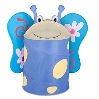 Kids Honey-Can-Do Large Butterfly Pop-Up Hamper