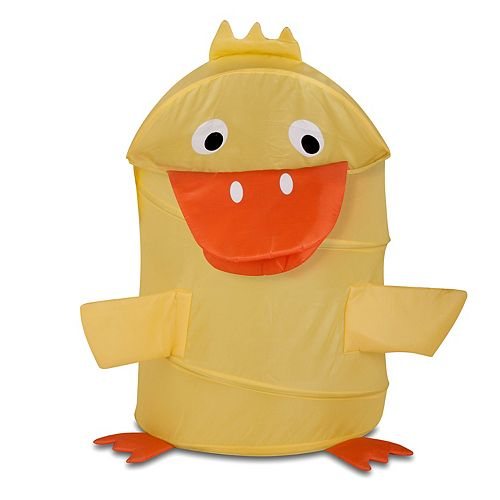 Kids Honey-Can-Do Large Duck Pop-Up Hamper