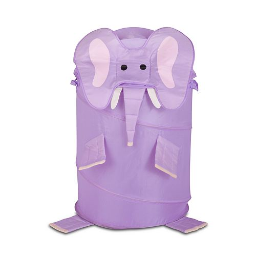 Kids Honey-Can-Do Large Elephant Pop-Up Hamper