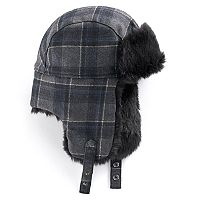 Men's Apt. 9® Plaid Trapper Hat