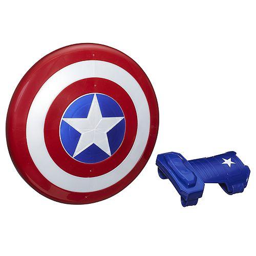 Marvel Avengers Captain America Magnetic Shield & Gauntlet Set by Hasbro