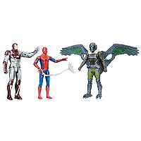 Spider-Man: Homecoming Web City 6-inch Figure 3-Pack by Hasbro