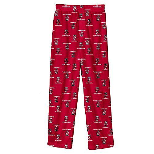 Boys 4-7 Wisconsin Badgers Team Logo Lounge Pants