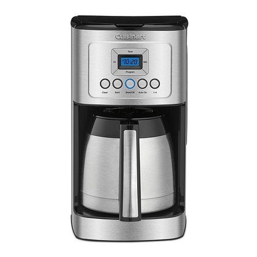 How To Use The Cuisinart Coffee Maker Self Clean : Cuisinart Perfectemp 12-Cup Programmable Thermal Coffee Maker