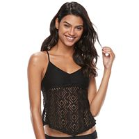 Mix-and-Match Crochet Tankini Top