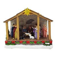 St. Nicholas Square® Village Outdoor Nativity Stage