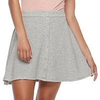 Juniors' Joe B Snap-Front Skater Skirt