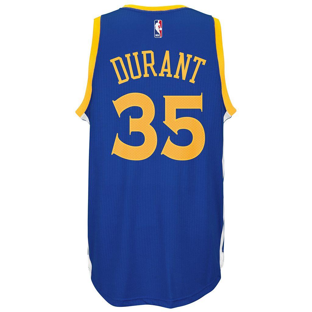 Men's adidas Golden State Warriors Kevin Durant NBA Replica Jersey