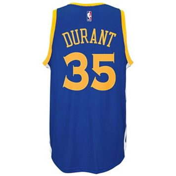 Men's adidas Golden State Warriors Kevin Durant NBA Replica Jersey