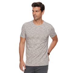 Men's Marc Anthony Slim-Fit Texture-Striped Stretch Crewneck Tee
