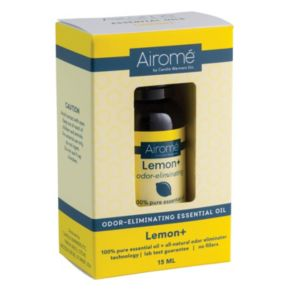 Airome by Candle Warmers Etc. Odor Eliminating Lemon Essential Oil