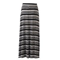 Women's Studio 253 Striped Maxi Skirt