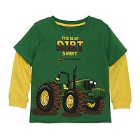 Toddler Boy John Deere Tractor