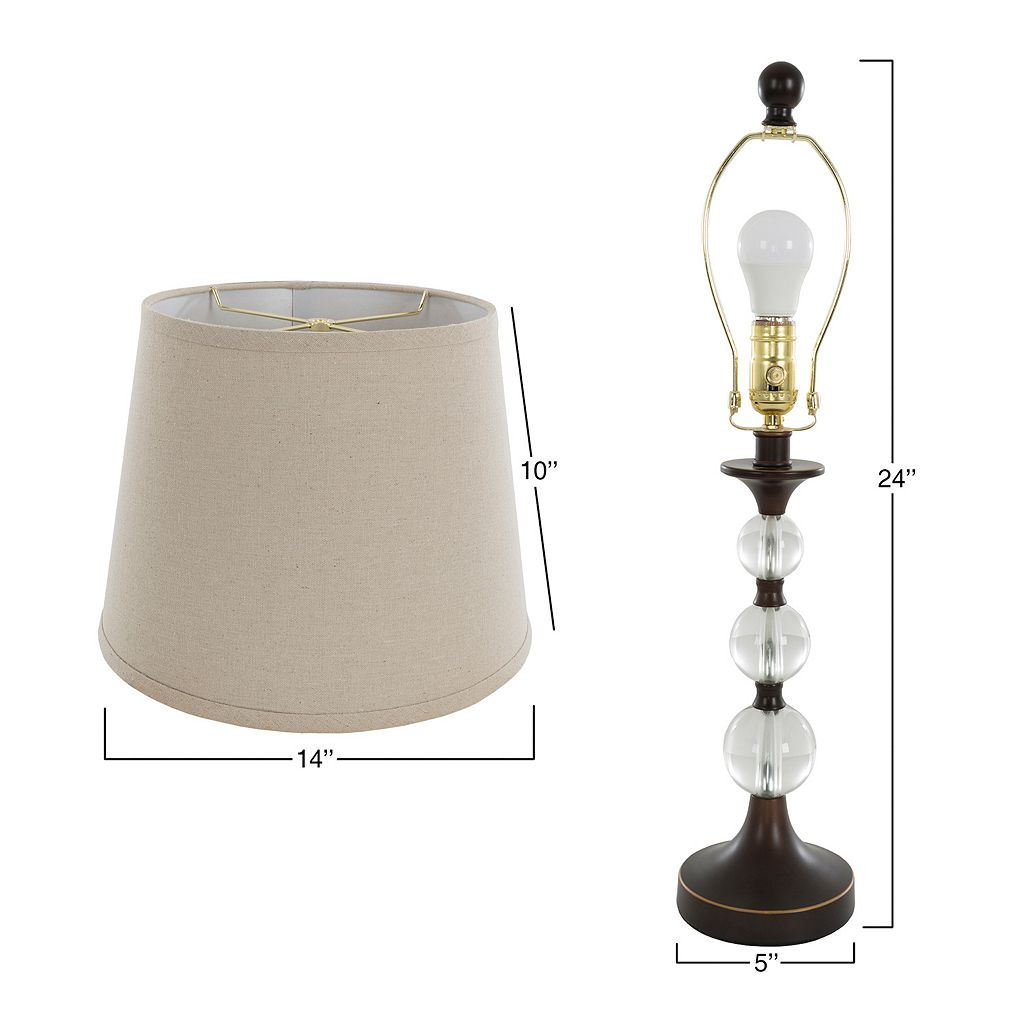 Portsmouth Home Bronze Finish Lamp 2-piece Set