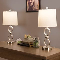 Portsmouth Home Modern Table Lamp 2 pc Set