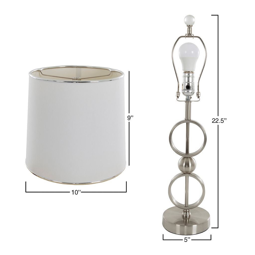 Portsmouth Home Modern Table Lamp 2-piece Set