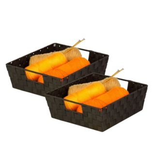 Honey-Can-Do 2-pack Woven Trays