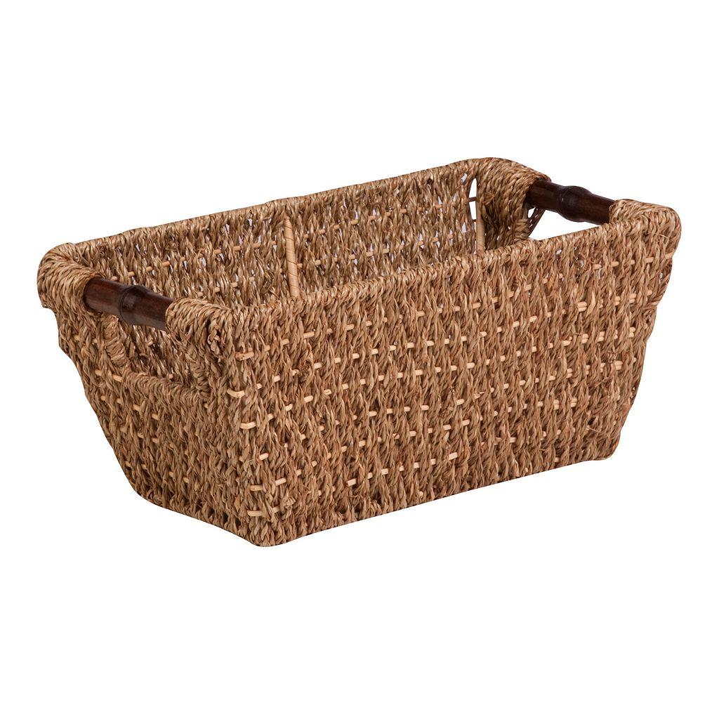 Honey-Can-Do Sea Grass Basket