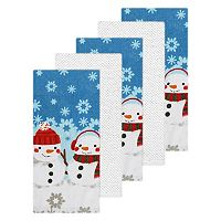 The Big One® Snowman Kitchen Towel 5-pk.