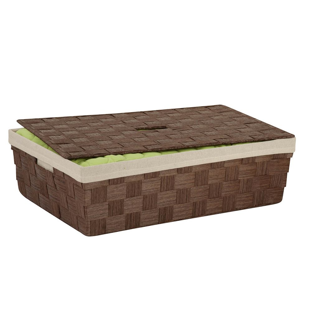 Honey-Can-Do Woven Paper Rope Underbed Basket