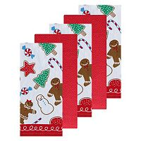 The Big One® Gingerbread Kitchen Towel 5-pk.