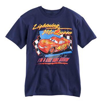 Boys 8-20 Disney/Pixar Cars Lightning McQueen One Man Show Tee