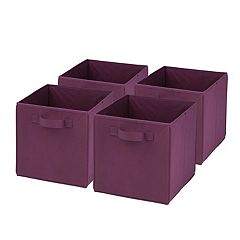 Honey-Can-Do 4-pack Foldable Storage Cubes