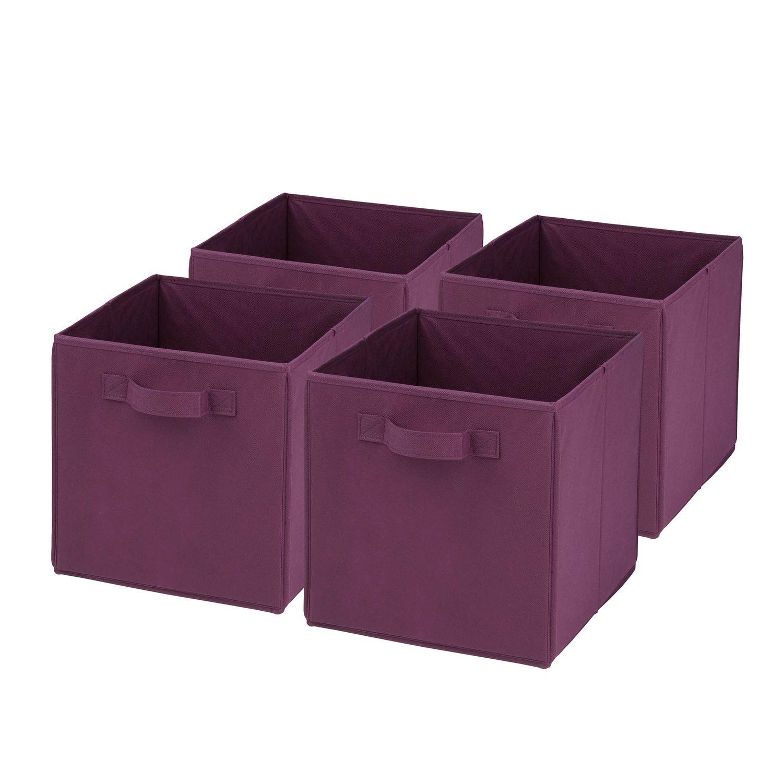 Honey-Can-Do 4-pack Foldable Storage Cubes  sc 1 st  Kohlu0027s & Bathroom Storage Bins u0026 Baskets Storage u0026 Organization Storage ...