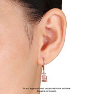 Stella Grace Sterling Silver Gemstone & Diamond Accent Drop Earrings