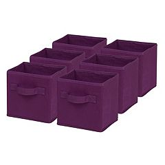 Honey-Can-Do 6-pack Foldable Storage Cubes