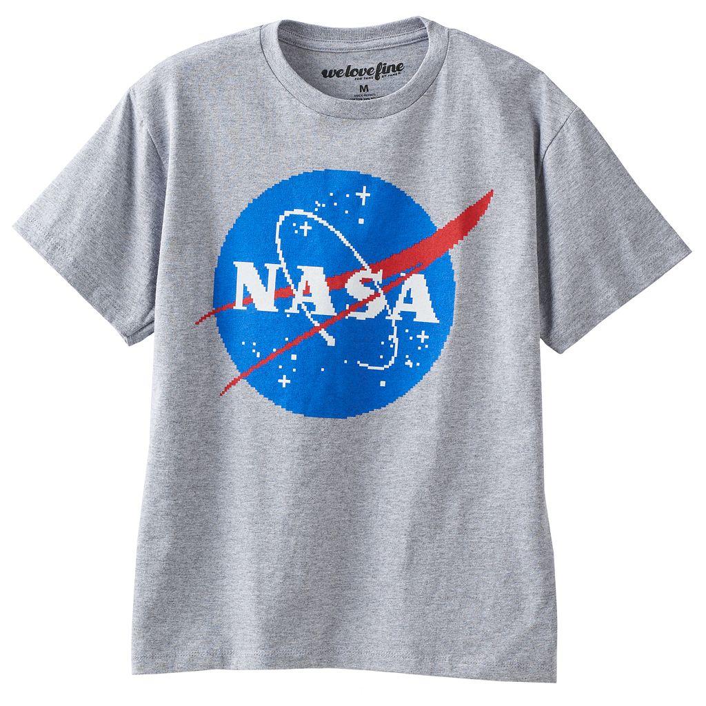 Boys 8-20 NASA Logo Tee