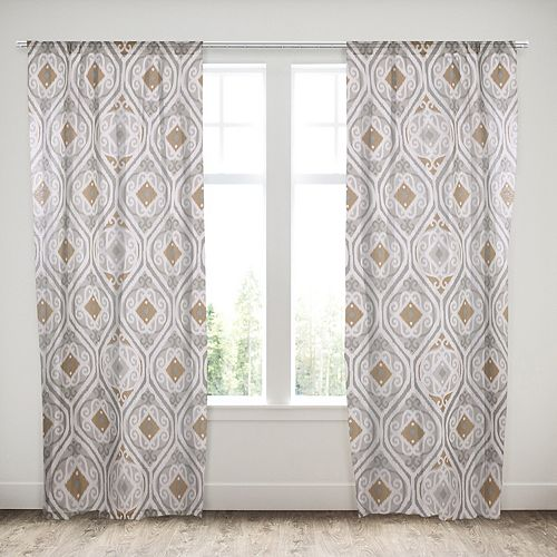 Samara 1-Panel Window Curtain