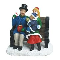 St. Nicholas Square® Village Double Figurines and Child