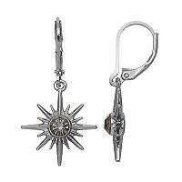 Simply Vera Vera Wang Nickel Free Starburst Drop Earrings