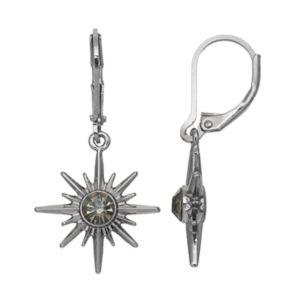 Simply Vera Vera Wang Nickel Free Starburst Drop Earrings