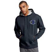 Men's Champion Logo Pull-Over Hoodie